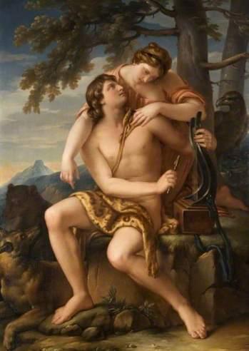 Hamilton, Gavin, 1723-1798; Apollo and Artemis